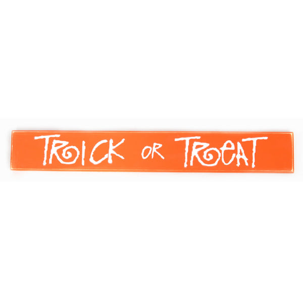 Trick or Treat Sign Board