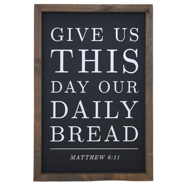 Give Us This Day Our Daily Bread <br>Framed Prints