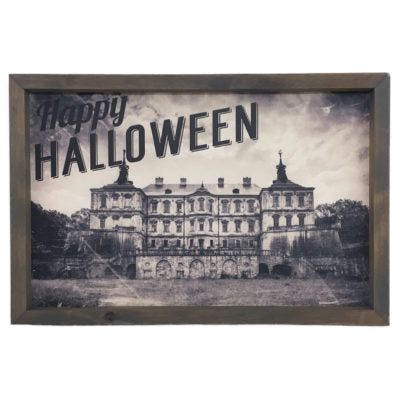 Haunted Mansion Framed Saying