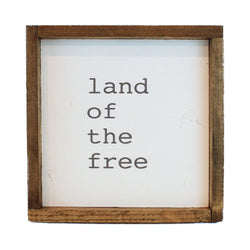 Land of the Free Framed Art