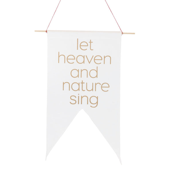 Heaven And Nature Pennant
