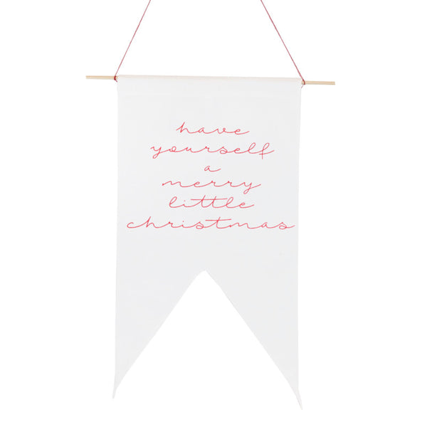 Merry Little Christmas Pennant