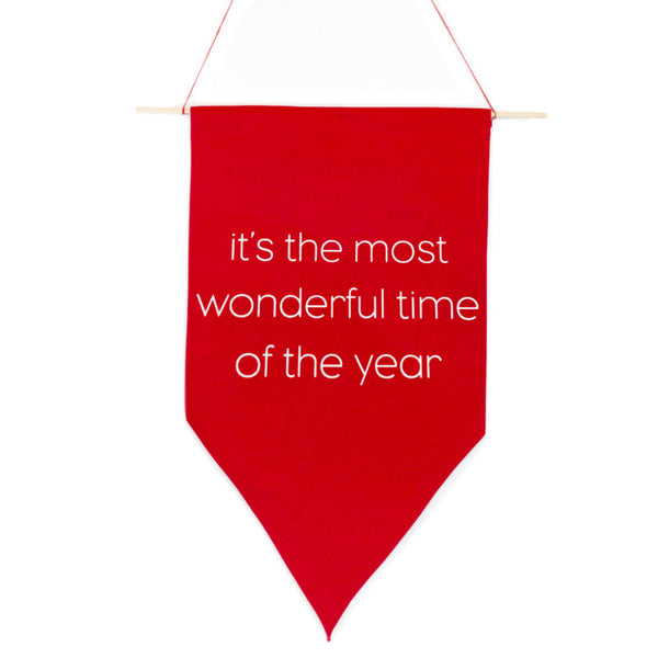 The Most Wonderful Time Pennant
