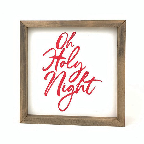 Oh Holy Night <br>Framed Print