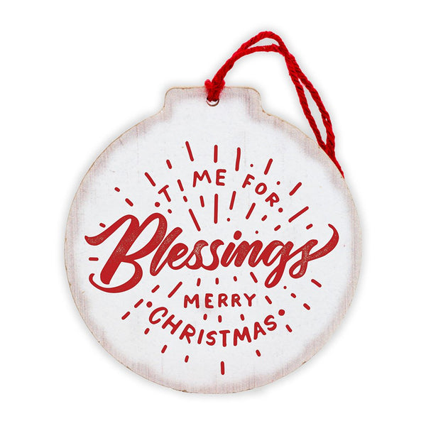 Time for Blessings Tree Ornament