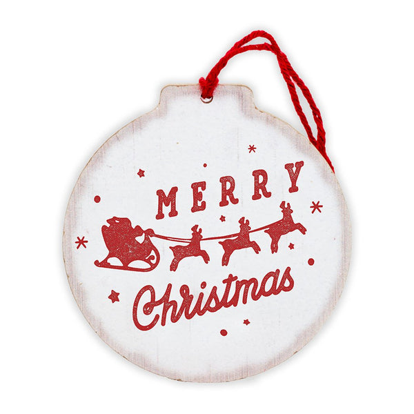 Merry Christmas Tree Ornament