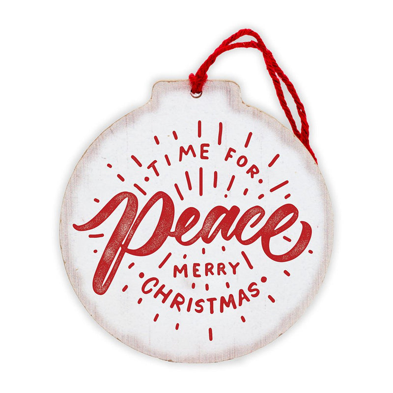 Time for Peace Tree Ornament