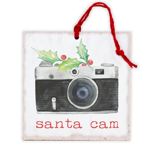 Santa Cam Tree Ornament