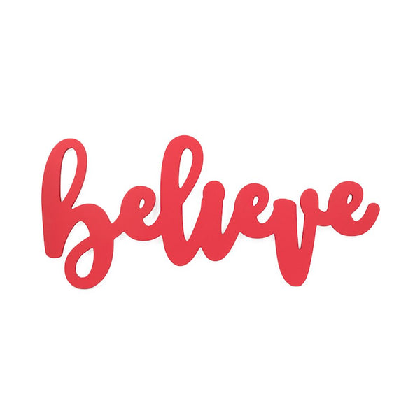 Believe Wall Word