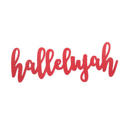 Hallelujah Wall Word