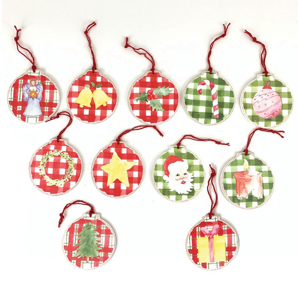 Christmas Symbolism Advent Ornament Set