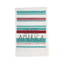 God Bless America Dish Towel