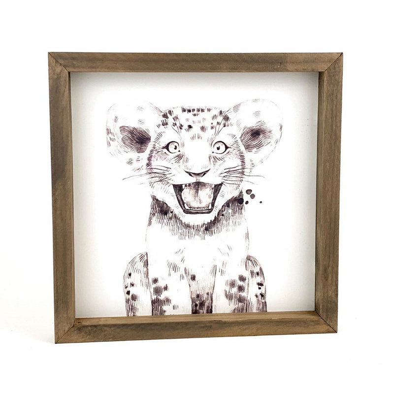 Baby Cheetah <br>Framed Art