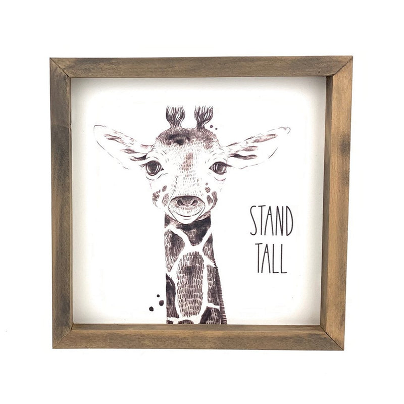 Stand Tall <br>Framed Art
