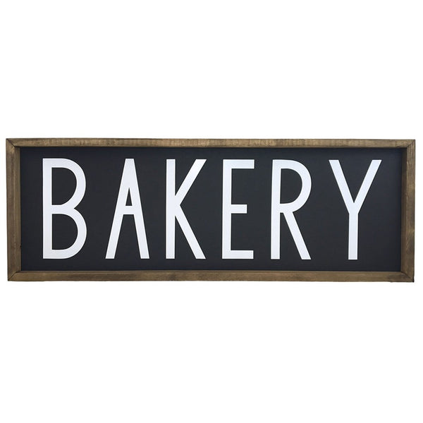 Bakery <br>Framed Saying