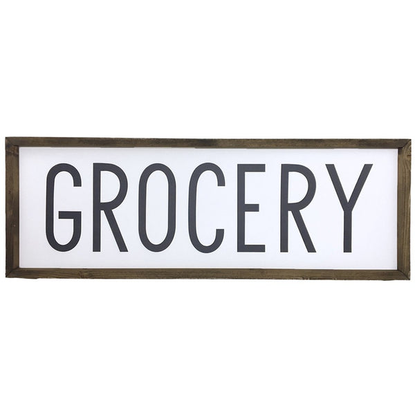 Grocery <br>Framed Saying