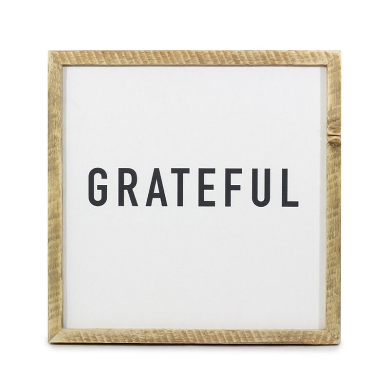 Grateful <br>Framed Saying