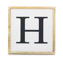 Monogram Name <br>Framed Saying