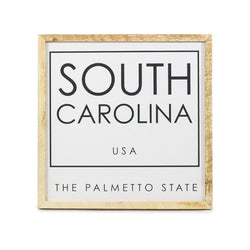 South Carolina The Palmetto State <br>Framed Saying