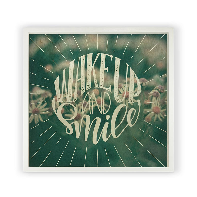 Wake Up And Smile <br>Framed Photography