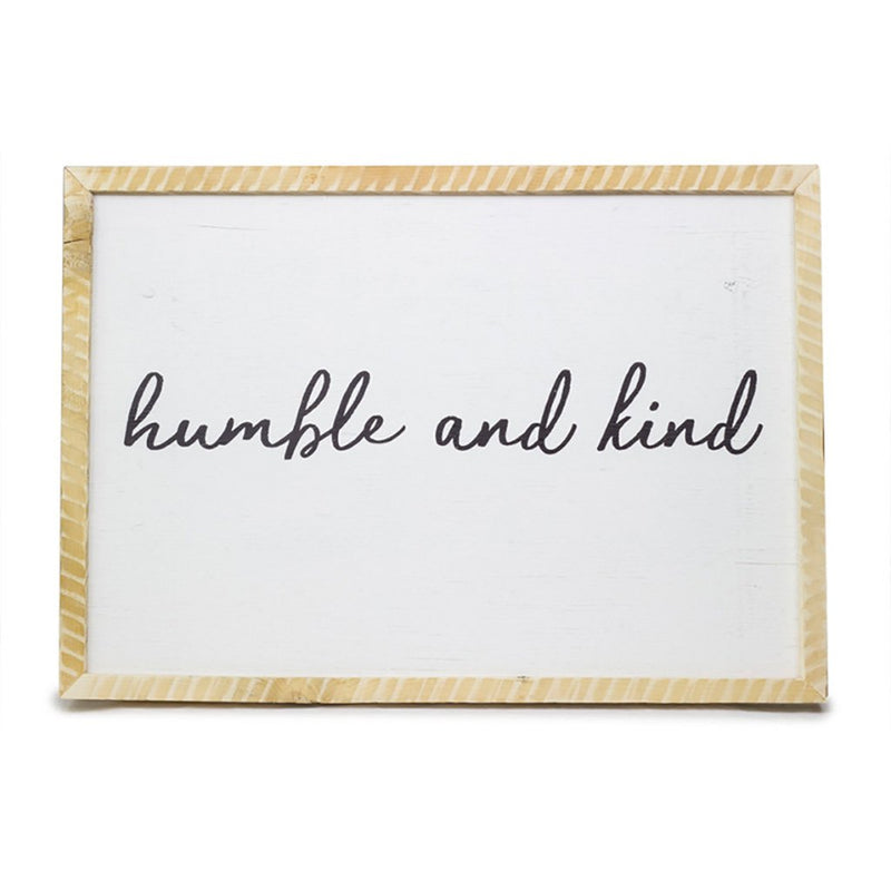 Humble and Kind <br>Framed Saying