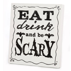 Eat Drink and Be Scary Small Panel