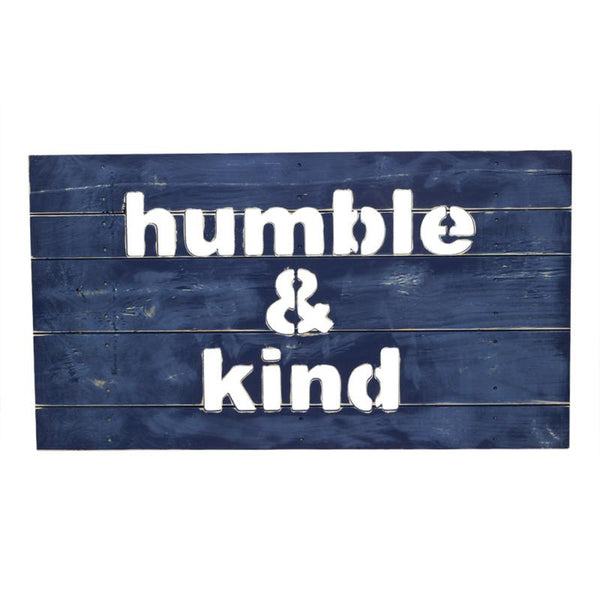 Humble & Kind Plank