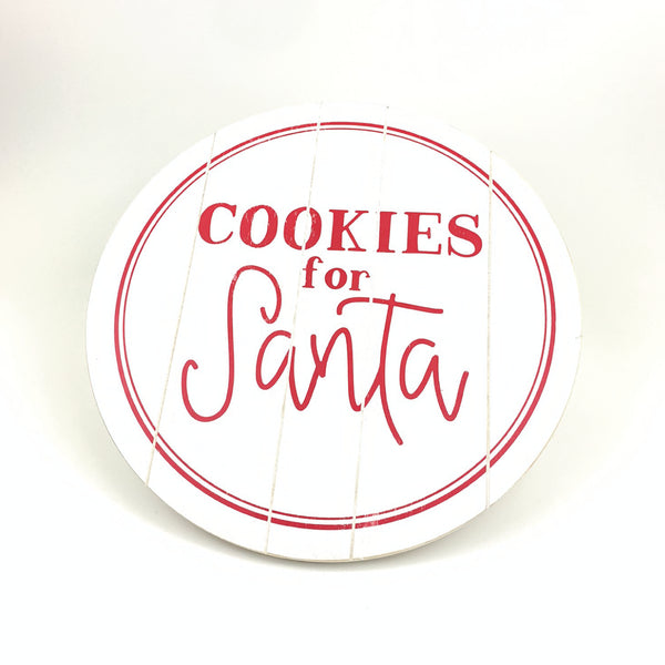 "Large Cookies For Santa Lazy Susan (23"")"