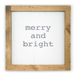 Merry and Bright <br>Framed Print