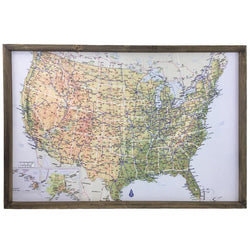 United States Atlas Pinboard
