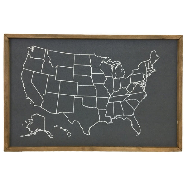 USA Outline Pinboard