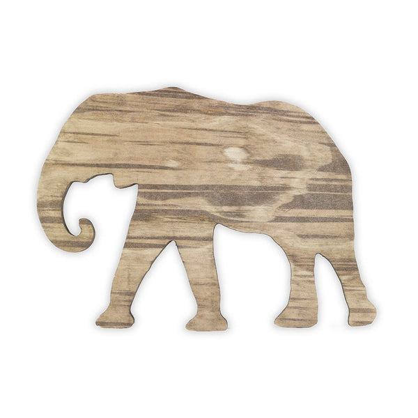 Elephant Wooden Shape
