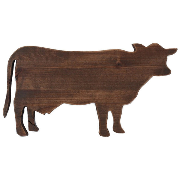 Cow Wooden Shape