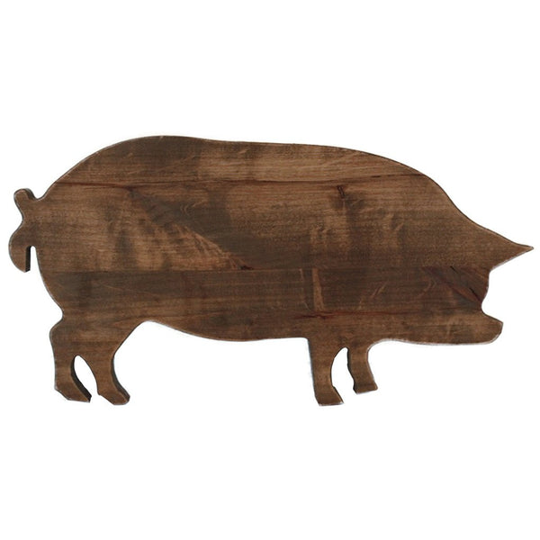 Pig Wooden Shape