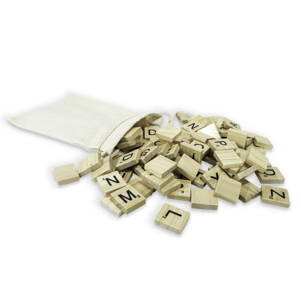 Scrabble Letters (Set of 100)