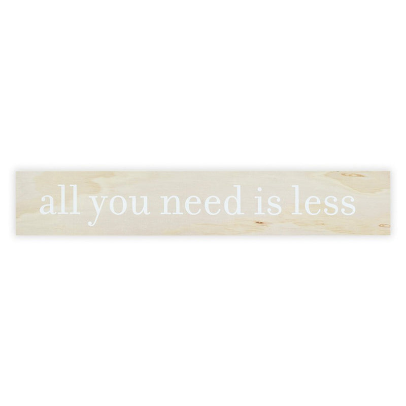 All You Need Sign Board