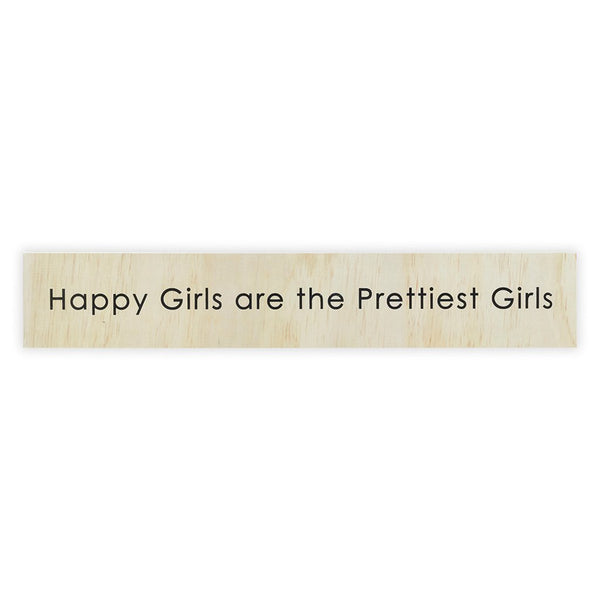 Happy Girls Sign Board