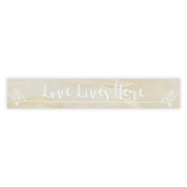 Love Lives Here Sign Board