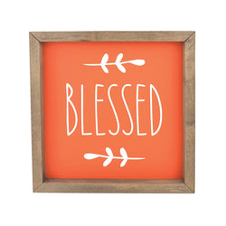 Blessed <br>Framed Print