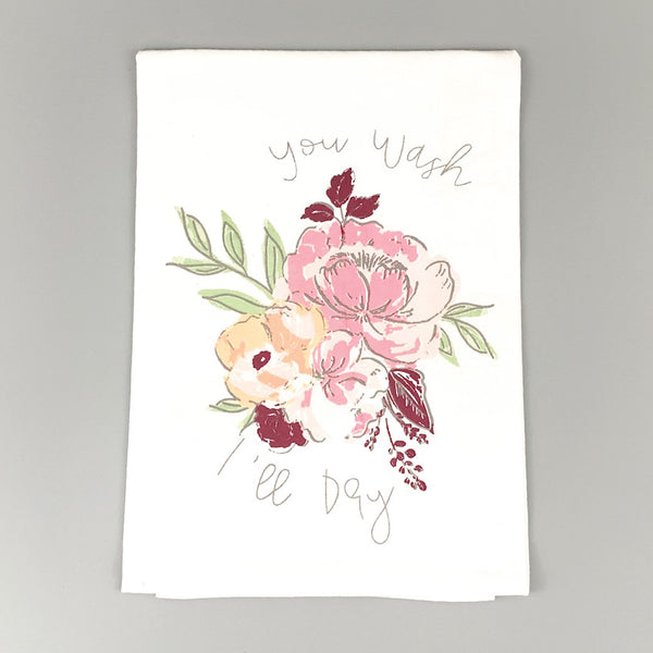 You Wash I'll Dry <br>Dish Towel