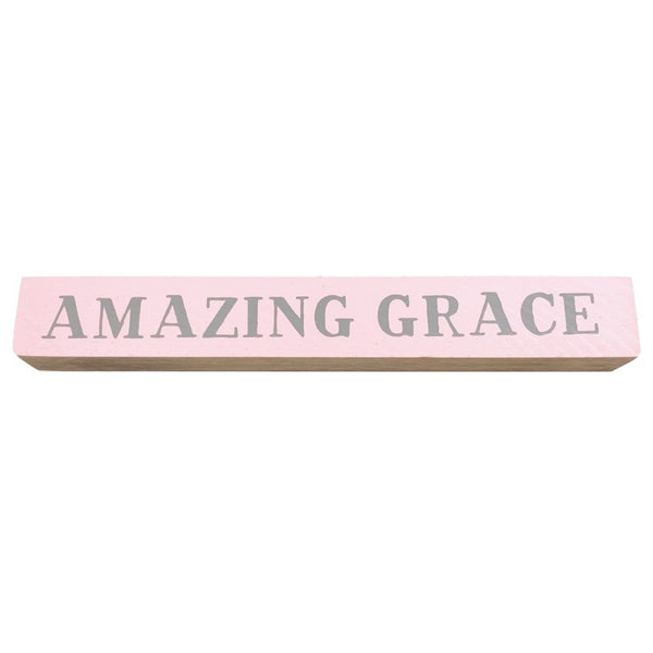 Amazing Grace <br>Shelf Saying