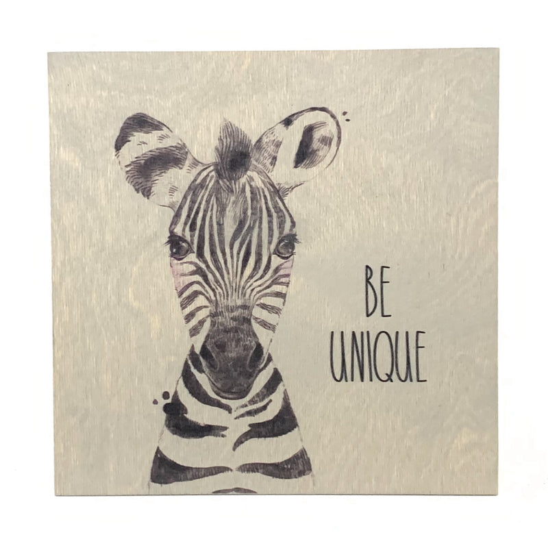 Be Unique <br>Frameless Wood Board
