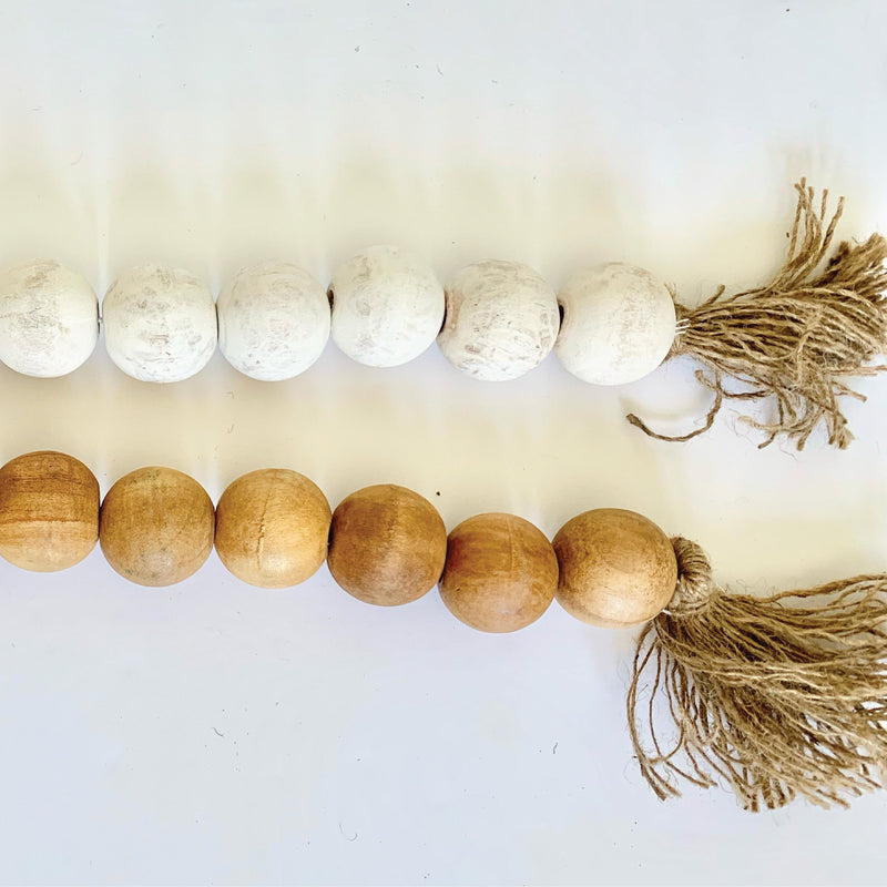*NEW BIGGER* Wood Beads