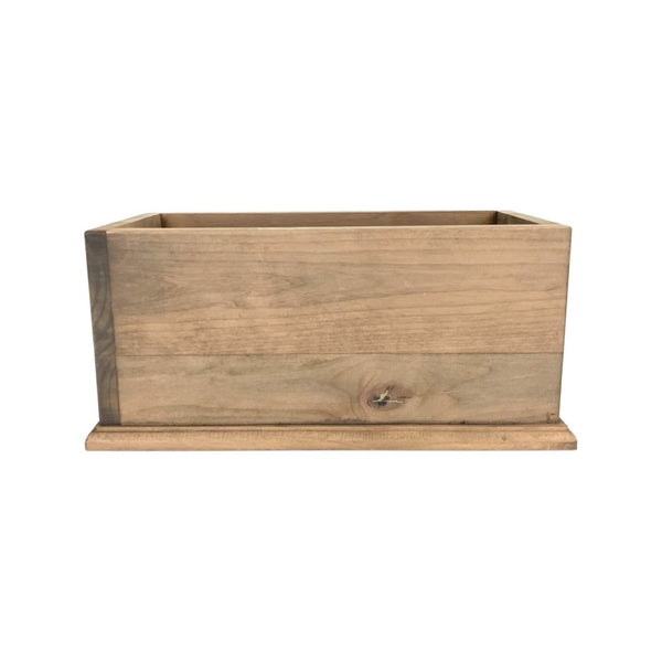 Rectangle Wooden Box