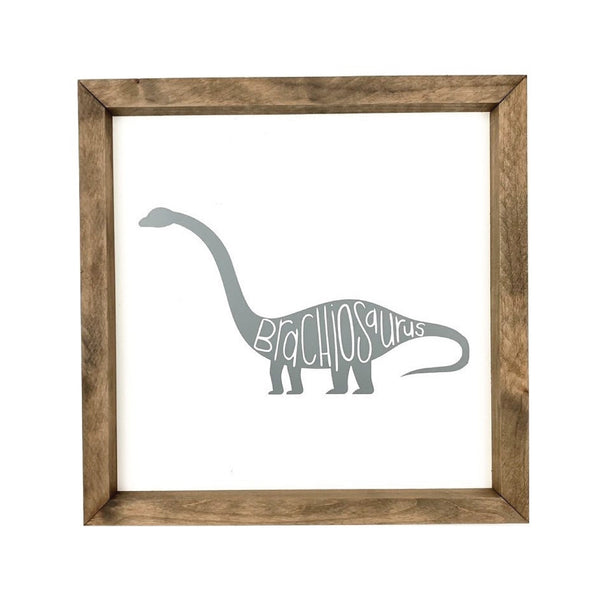 Brachiosaurus <br>Framed Art