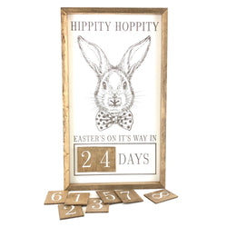 Hippity Hoppity <br>Magnetic Easter Countdown