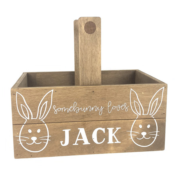 Somebunny Loves You <br>Personalized Easter Basket