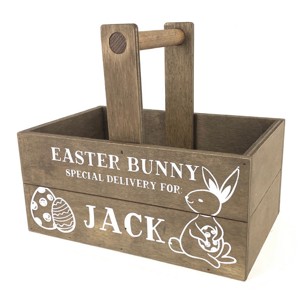Special Delivery <br>Personalized Easter Basket