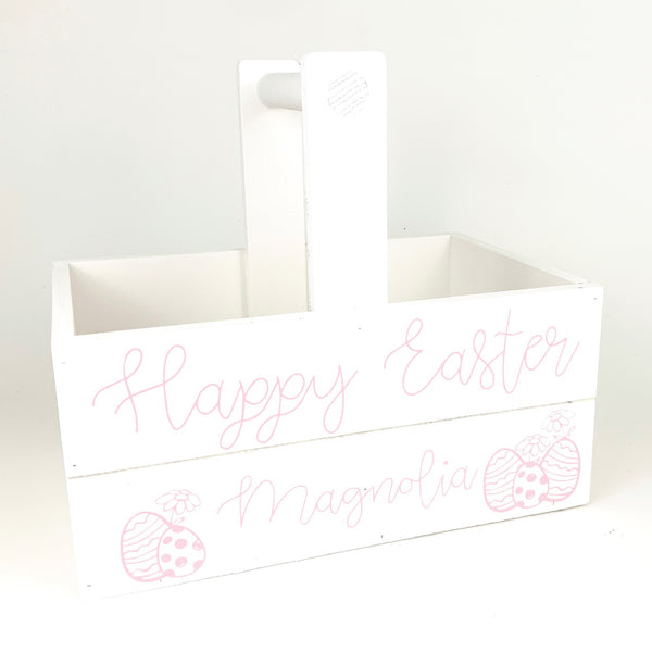 Happy Easter <br>Personalized Easter Basket