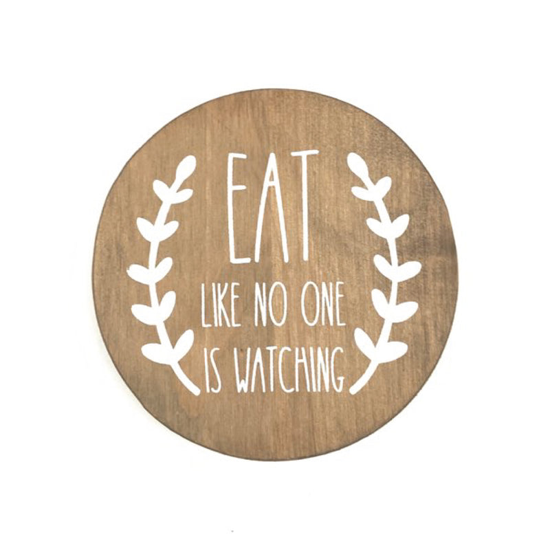 Eat Like No One Is Watching Coasters